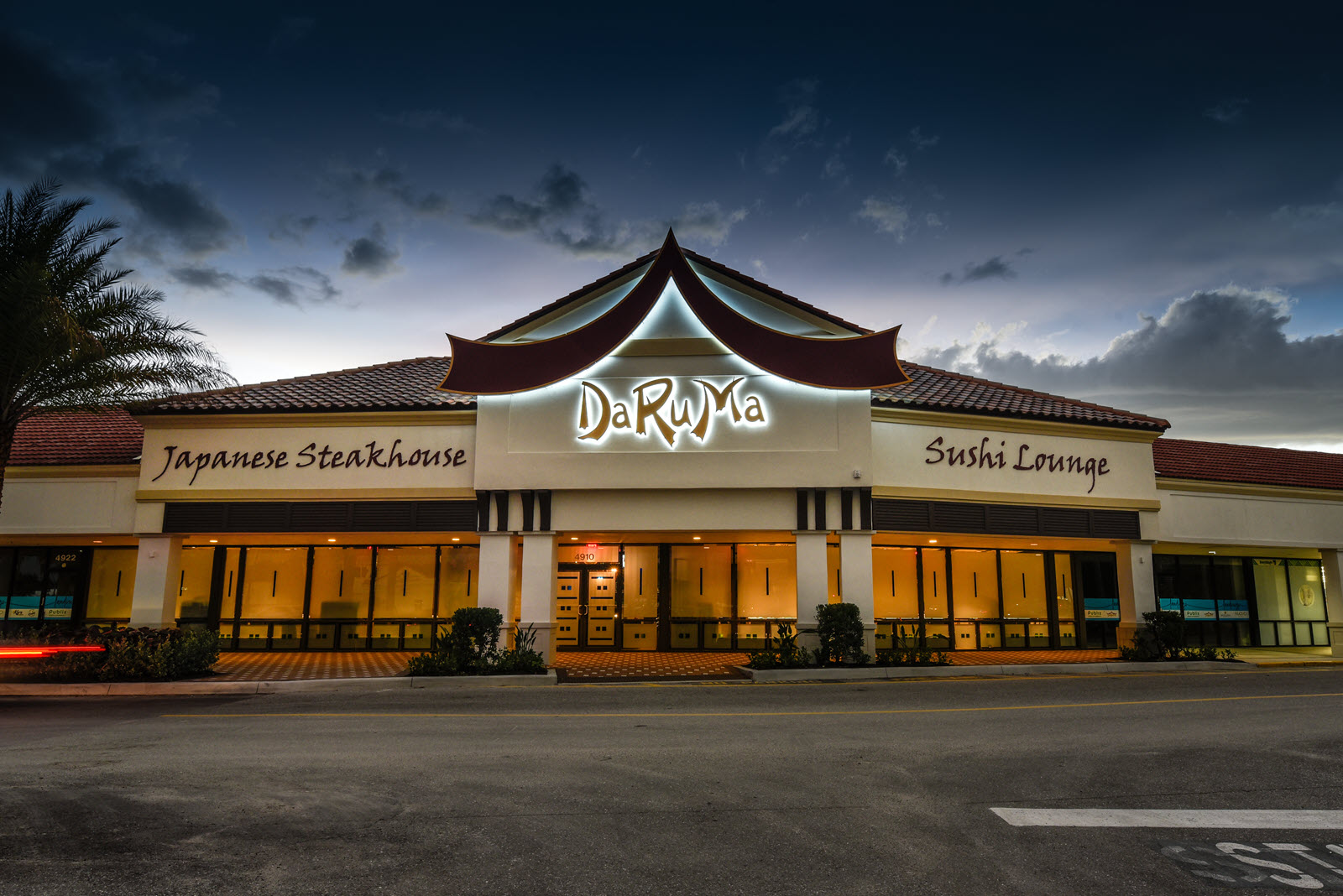 DaRuMa Japanese Steakhouse - Atlas Building Company