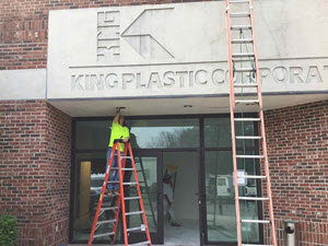 King Plastic Office Renovation